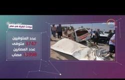مساء dmc - |  تقرير عن حوادث الطرق في مصر
