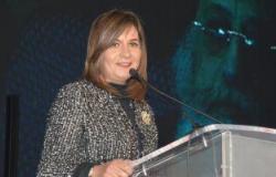 """صور.. وزيرة الهجرة: """"مش هنلاقى بلد تانية زى مصر تضمنا.. حافظوا عليها"""""""