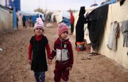 وفاة 15 طفلاً نازحاً غالبيتهم من الرضع في سوريا جراء البرد القارس