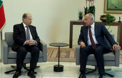 أبو الغيط في لقائه مع الرئيس اللبناني: نتطلع إلى نجاح قمة بيروت