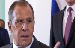 """لافروف يطالب بتطبيق مخرجات """"القمة الرباعية"""" بشأن سوريا"""