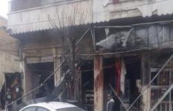 بالفيديو :  مقتل واصابة 9 جنود امريكيين في تفجير منبج وداعش يتبنى