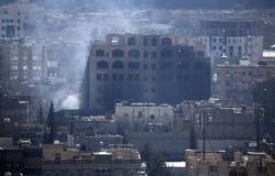 """مقتل 9 من """"أنصار الله"""" بغارة للتحالف غرب تعز"""