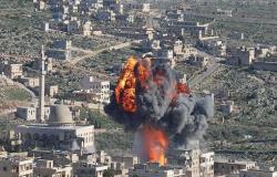 سوريا.. مقتل شخصين وإصابة 9 في غارات روسية على إدلب