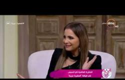 """السفيرة عزيزة - تانيا قسيس تحكي عن تجربة الغناء أمام الرئيس الأمريكي """" ترامب """""""