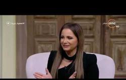"""السفيرة عزيزة - تانيا قسيس تحكي عن شعورها اثناء غناء """" مريم """" أمام الرئيس السيسي"""