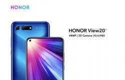 هواوي تبدأ إطلاق هاتف Honor View 20 عالميًا والبداية من أوروبا