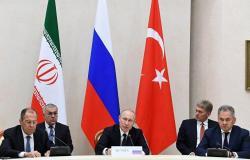 بوتين: روسيا وايران وتركيا سيدعمون إطلاق اللجنة الدستورية السورية