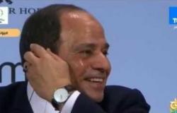 السيسي يحرج رئيس مؤتمر ميونخ (فيديو)