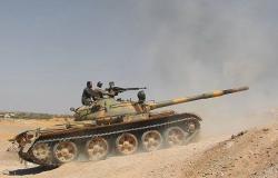 الجيش السوري يرد على خروقات المسلحين ويقصف مواقعهم جنوب إدلب