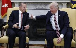 أردوغان وترامب يتفقان على تنفيذ انسحاب أمريكا من سوريا بما يتماشي مع المصالح المشتركة
