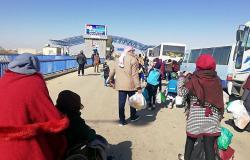 عودة نحو 100 لاجئ سوري من الأردن ولبنان خلال 24 ساعة الماضية