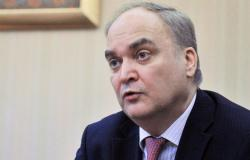 """أنطونوف: روسيا تدعو لاستئناف الحوار مع أمريكا بصيغة """"2 + 2"""""""