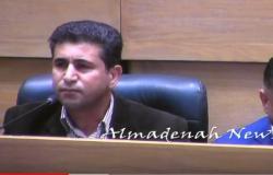 بالفيديو : كلمة محمد هديب عن فلسطين التي احالته الى التحقيق
