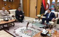 """تفاصيل اجتماع السراج وقائد """"أفريكوم"""" وسفير أمريكا في ليبيا"""