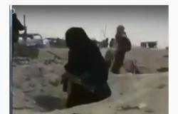 الباغوز .. تصريحات زوجات  مقاتلي داعش الخارجات من الباغوز  تتسبب بغضب عارم