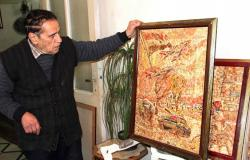 سوري في الثمانينات يرسم ببروات أقلام الرصاص لوحات رائعة عن الحب والوطن (فيديو+صور)