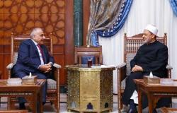 تفاصيل لقاء رئيس الوزراء العراقي وشيخ الأزهر