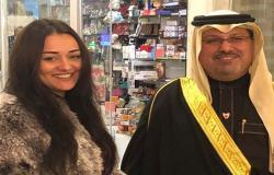راندا البحيري تحمل رسالة حب إلى الشعب المصري