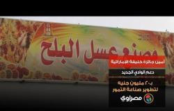 أمين جائزة خليفة الإماراتية: دعم الوادي الجديد بـ20 مليون جنيه لتطوير صناعة التمور