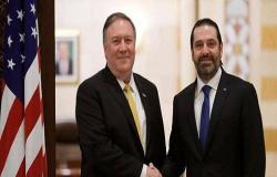 بومبيو حذر لبنان من مصنع صواريخ جديد لحزب الله