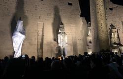 كان متكسرا من 1400 سنة... افتتاح تمثال ضخم للملك رمسيس الثاني في مصر (صور)