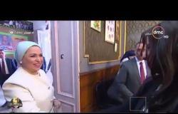 مساء dmc - | الرئيس السيسي وقرينته يشاركان في الاستفتاء على التعديلات الدستورية |