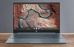 إتش بي تكشف عن حاسب HP Chromebook 15