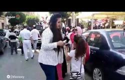 الاستفتاء| اغاني ودي چي بمحيط اللجان الانتخابية بمصر الجديدة