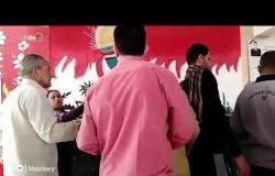 الناخبون يتوافدون على لجان الإقتراع للإدلاء بأصواتهم بمدينة نصر