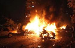 قصف جوي بطرابلس وإغلاق المجال الجوي لمطار معيتيقة