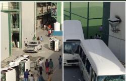 شاهد أول فيديو لأعمال الشغب في قطر بسبب تأخر الرواتب..ومتابعين:العمال هيحتلوها