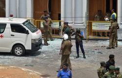 شاهد... لحظة تفجير انتحاري سريلانكا نفسه بجوار سعوديين