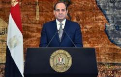 الرئيس السيسى: سيناء تحمل مكانة خاصة فى نفوس المصريين جميعًا