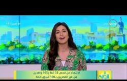 8 الصبح - الإنتهاء من فحض 33 ألف و105 وافدين من غير المصريين ب100 مليون صحة