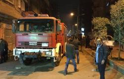 احتراق حافلتين في مصر بسبب ارتفاع درجات الحرارة