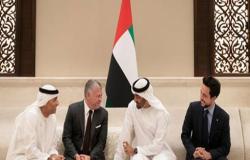 الملك عبدالله الثاني وولي عهد أبو ظبي يؤكدان اعتزازهما بمستوى العلاقات المتينة الأردنية الإماراتية