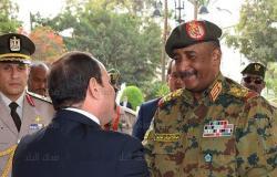 رئيس المجلس العسكرى الانتقالي بالسودان يغادر القاهرة