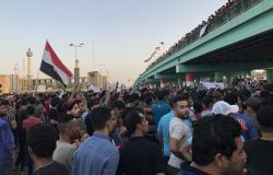 آلاف العراقيين يطالبون الحكومة بالابتعاد عن الصراع بين أمريكا وإيران (فيديو)