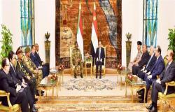 التفاصيل الكاملة لإجتماع السيسي والمجلس العسكري «السوداني»