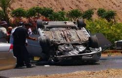 5 إصابات بحادث تدهور بالزرقاء