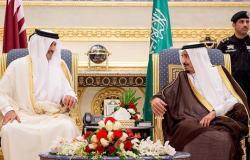 أمير قطر يتلقى دعوة من ملك السعودية لحضور قمتين بمكة