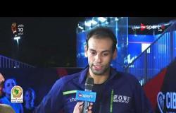 """انطباعات محمد الشوربجي عقب الفوز على سايمون روزنر ببطولة """"CIB"""" الدولية للاسكواش"""