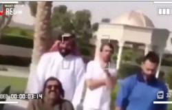 بعد اختفائه من المشهد.. تسريب فيديو لأمير قطر السابق داخل مستشفى أمراض نفسية