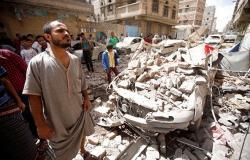 """مقتل ثلاثة أطفال وإمراة في غارة لطيران """"التحالف العربي"""" على اليمن"""