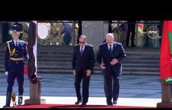 اليوم - الرئيس السيسي يزور البرلمان البيلاروسي