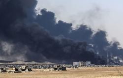 صاروخ يستهدف مجمع القصور الرئاسية في الموصل العراقية