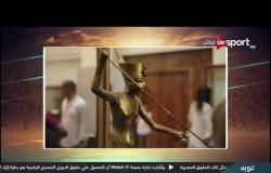 جهاد شوقي توضح أبرز القطع الأثرية الموجودة بمعرض الرياضة فى مصر عبر العصور