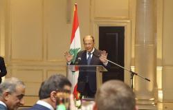 الرئيس اللبناني: على الأمم المتحدة أن تقدم مساعداتها للنازحين داخل الأراضي السورية