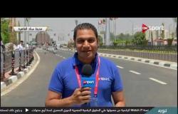توافد الجماهير علي ستاد القاهرة لحضور مباراة مصر والكونغو